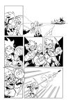 Smash Comic Page 5 Inks by MEGABLUR