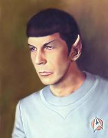 TMP Spock by karracaz