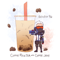 Overwatch - BOBAWATCH: Soldier 76 by Pidoodle