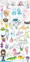 Doodle Dump - i should submit things here more by Nami-Tsuki