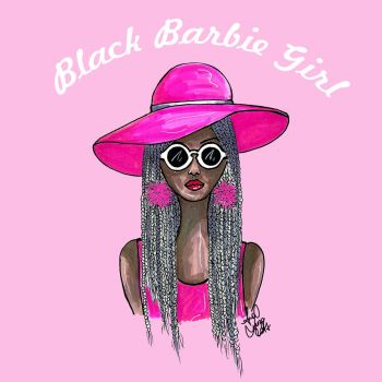 Black Barbie Girl by analubelico