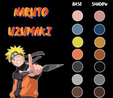 Naruto Shippuden - Anime Color by Ade-R