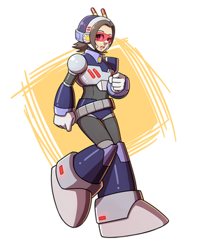 Reploid Maggey by tentokki