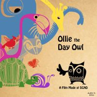 Ollie the Day Owl Poster by Doodley