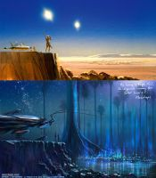 Homage to Ralph McQuarrie, Star Wars concpt artist by m0zch0ps