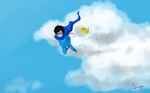 Fly in the sky by ArmoGirl5
