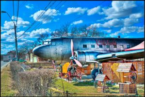 HDR Old Plane by everson4
