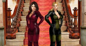 Jill and JAN-BSAA SISTERS by blw7920