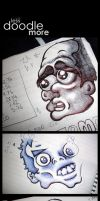 Work Less Doodle More by keiross