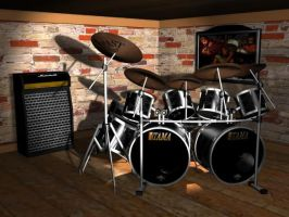 tama drums by E30X
