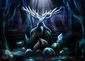 Disappear  Antler by TrachaaArMy