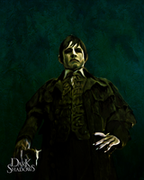 Barnabas Portrait of Collinwood Manor by ryu716