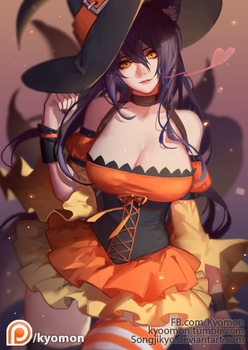 Witch Ahri by SongJiKyo