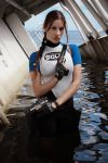 Lara Croft SOLA wetsuit - dangerous girl by TanyaCroft