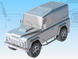 Defender 1 by cananea