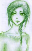 green monochrome by Mari945