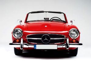 Mercedes 190SL by candas