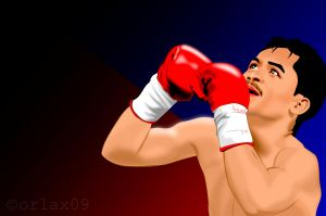 Manny 'Pacman' Pacquiao by orlaxdessa