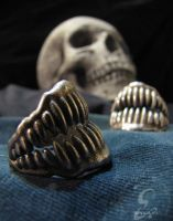 Jaw Ring by Eeppium