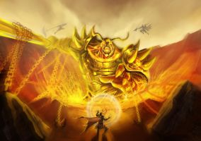 fire colossus: Firazanto by ACWart