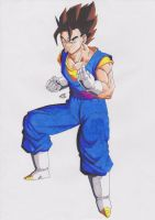 DRAGONBALL Z - VEGETTO MODO NORMAL by TriiGuN