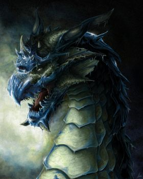 A frost dragon by uncle91