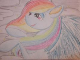 rainbow dash a4 size by twilightsilvermoon