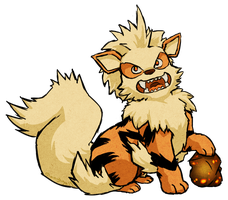 Arcanine WWS by the19thGinny