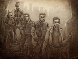 Gunners villains -commish- by undead-medic
