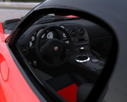 Dodge Viper SRT10 ACR Cockpit by 12055
