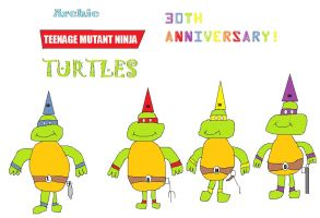 Teenage Mutant Ninja Turtles 30th Anniversary by BuddyBoy600