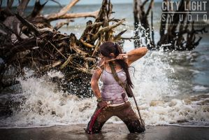 Lara Croft cosplay | Tara Cash by jmnettlesjr