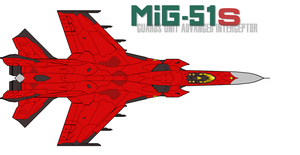 MiG-51S Redesign by PrinzEugn