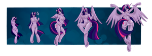 Twilight Sparkle Commission Final Cut by RainbowStar2015
