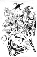 Benes Pin Up Inks by JPMayer