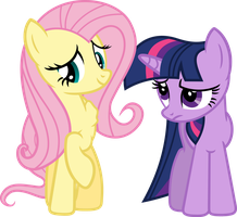 Fluttershy, what are you up to? by porygon2z