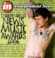 IN Cover, Music Awards Issue by subspaceNinja