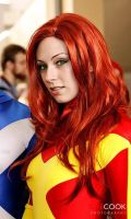 X-Factor Jean Grey headshot by screaM4Dolls