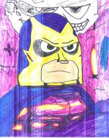 Bibleman and Luxor by SonicClone