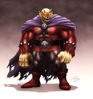 Etrigan the Demon by ChuddmasterZero