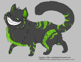 Me as a Cheshire? by JuggalettaGurl