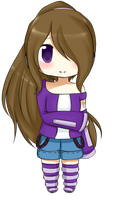 [PC] Chibi Aki by OrangeCornPuff