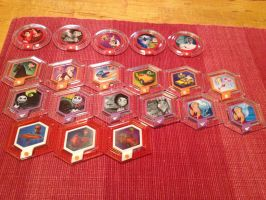 Disney Infinity Collection 3: All Series 2 Disks by shadowdelta47