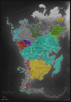 Aventuria (Political Map, 1 Hal) by Elytherion