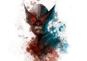 Wolverine: X-Force study face by shiprock