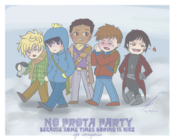 SP: No Prota Party by orugosa