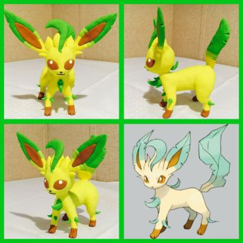 Leafeon by PomChiPrincess