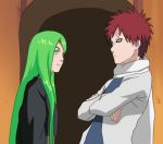 Error And Gaara by Ash-can