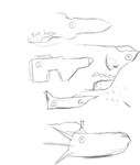 Future Boeing Warp ship concepts by InvertedSlime