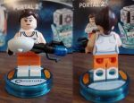 LEGO DIMENSIONS: Chell by CalumTraveler